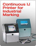 Continuous IJ Printer for Industrial Marking
